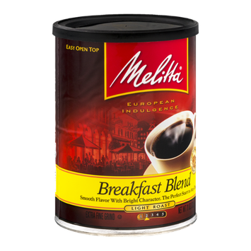 Melitta Extra Fine Ground Coffee Breakfast Blend