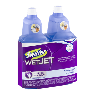 Swiffer WetJet Multi-Purpose Cleaner Open-Window Fresh Scent - 2 CT