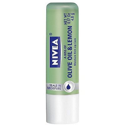 NIVEA Olive Oil & Lemon Moisture Rich Lip Care