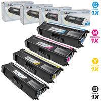 LD Compatible Brother TN315 Set of 4 Toner Cartridges: 1(Black/Cyan/Magenta/Yellow) for use in HL-4150cdn, HL4570cdw, HL-4570cdwt, MFC-9460cdn, MFC-9560cdw & MFC-9970cdw Printers
