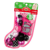 Grreat ChoiceA Pet HolidayTM 11-Pack Stocking Cat Toys