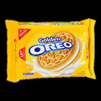 Nabisco Golden Oreo Sandwich Cookies