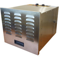 Cooks Club USA PT40 Stainless Steel Metal Food Dehydrator 10 Levels with Analog Control Panel