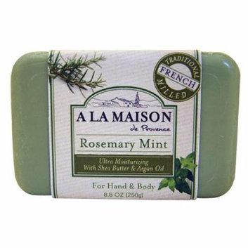 A La Maison Bar Soap Rosemary Mint 8.8 oz