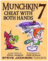 Steve Jackson Games Munchkin 7 Cheat With Both Hands