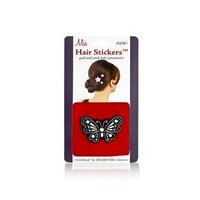 Mia Hair Stickers - Large Model No. 04800 - Silver Flower