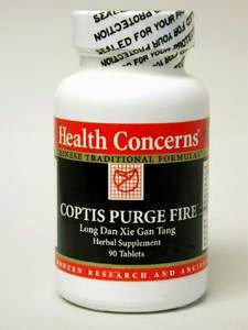 Health Concerns Coptis Purge Fire 90t