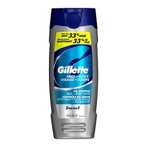 Gillette Face + Body Wash