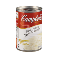Campbell's New England Clam Chowder Condensed Soup