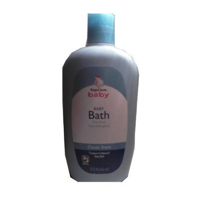 Topcare Baby Baby Bath Tear Free Hypoallergenic Classic Scent 15 Fl Oz