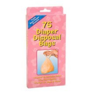 Greenbrier International Diaper Sacks Bags (Scented to Neutralized Odors) 75 Count