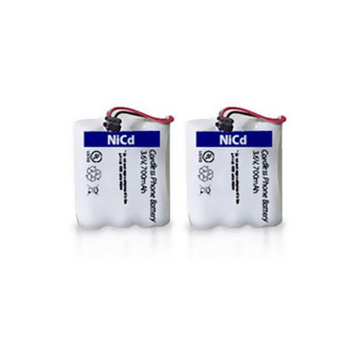 Battery for Uniden BT905 (2-Pack) Replacement Battery