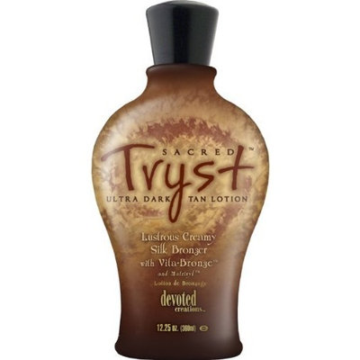 Devoted Creations Sacred Tryst Ultra Dark Tan Lotion Tanning Lotion 12.25 oz
