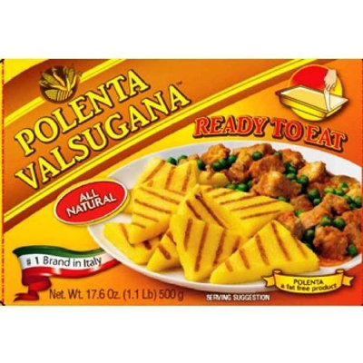 Valsugana Polenta Ready to Eat, 17.6-Ounce Boxes (Pack of 6)