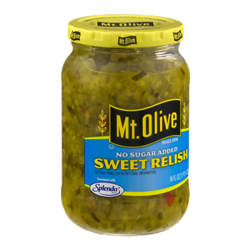 Mt. Olive Sweet Relish No Sugar Added