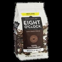 Eight O'Clock 100% Colombian Whole Bean Coffee