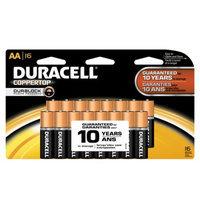 Duracell AA Coppertop Alkaline Batteries