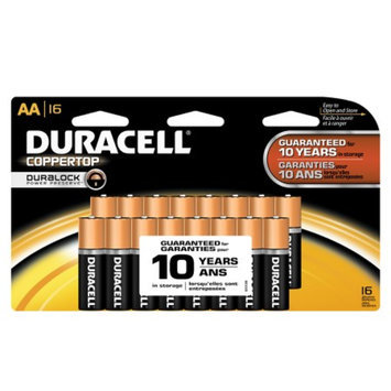 Duracell AA Coppertop Alkaline Batteries