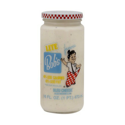 Kraft Bob's Big Boy Lite Bleu Cheese Dressing 16 oz