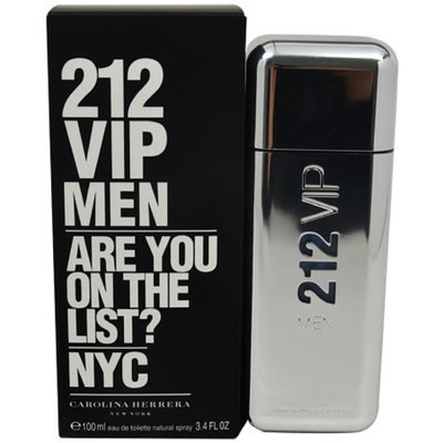 Carolina Herrera 212 VIP Men Eau de Toilette Spray, 3.4 fl oz