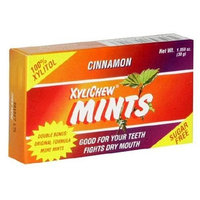 XyliChew Sugar Free Mints, Cinnamon, 50-Count Boxes (Pack of 12)