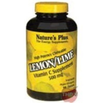 Nature's Plus - Vitamin C Lemon/Lime 500 Mg Chewable 90