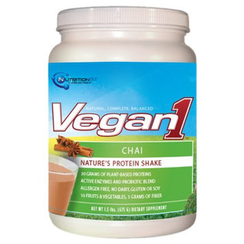 Nutrition53 Vegan1 Nature's Protein Shake Chai