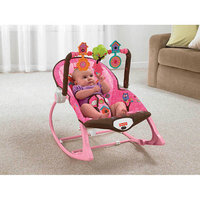 FISHER PRICE Fisher-Price Infant to Toddler Rocker Sleeper, Pink Owls
