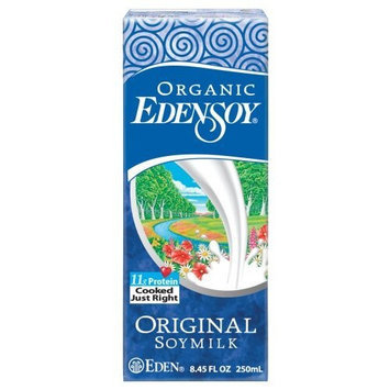 EdenSoy Organic Soymilk, Original, 8.45-Ounce Boxes (Pack of 27)