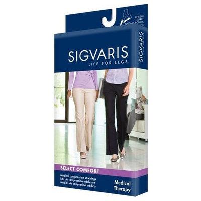 Sigvaris 860 Select Comfort Series 30-40 mmHg Women's Closed Toe Pantyhose Size: M3, Color: Black Mist 14