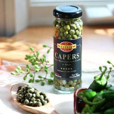 Hot Paella Mediterranean Capers
