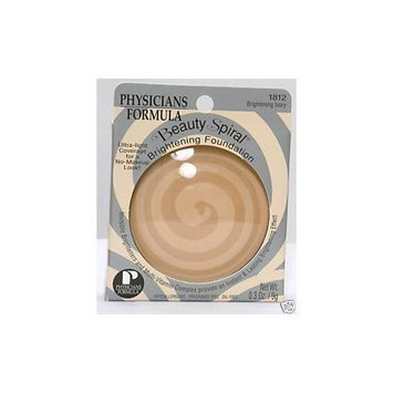 Physicians Formula Beauty Spiral Brightening Compact Foundation, Brightening Ivory, 0.3 Ounce