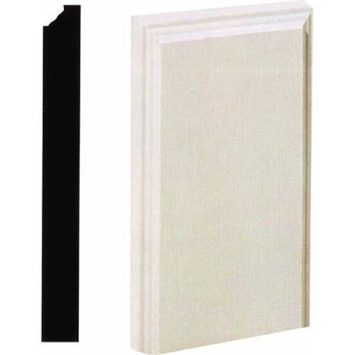 House Of Fara MDF Plinth Blocks - Pack of 10