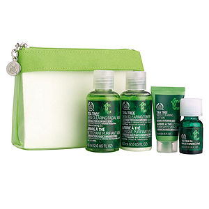 The Body Shop Tea Tree Travel or Trial Mini Collection