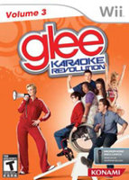 Konami Karaoke Revolution Glee: Volume 3 with microphone