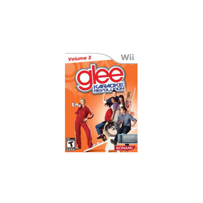 Konami Karaoke Revolution Glee: Volume 3 with microphone