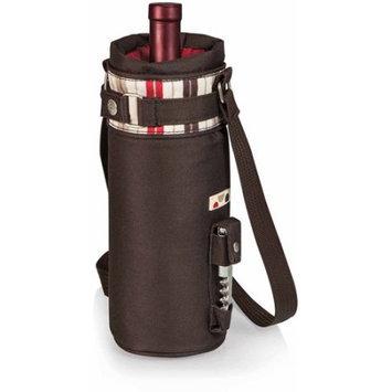 Picnic Time Wine Sack Moka Insulated Wine Cooler