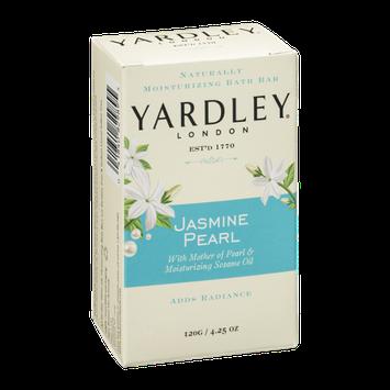 Yardley London Naturally Moisturizing Bath Bar Jasmine Pearl