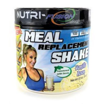 Nutri Fusion Nutri-Fusion Systems Meal Replacement Shake Powder Vanilla Bean 12 oz.