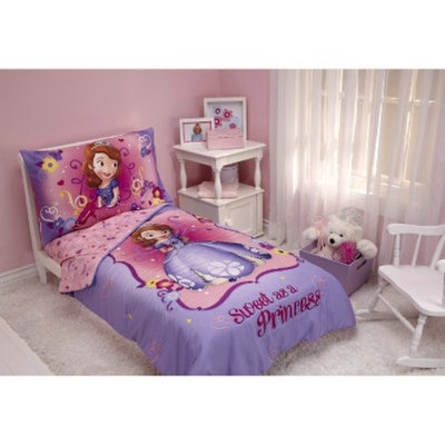 Disney Sofia the First 4 Piece Bedding Set - Toddler