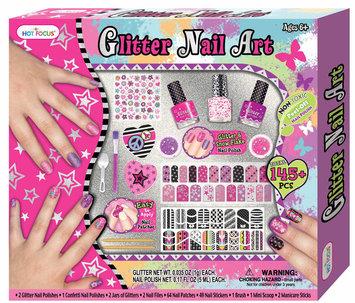 Hot Focus Glitter Nail Art Set - SIERRA ACCESSORIES
