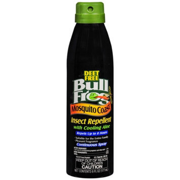 Bull Frog Mosquito Coast Continuous Spray Insect Repellent with Cooling Aloe, 6 fl oz