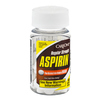 CareOne Aspirin Tablets Regular Strength - 100 CT