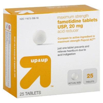 up & up up&up Maximum Strength Famotidine Acid Reducer 20 mg Tablets - 25
