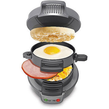 Hamilton Beach HAMILTON BEACH Dark Gray Breakfast Sandwich Maker