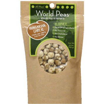 World Peas Hungarian Garlic Peas, 5.3 oz, (Pack of 6)