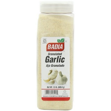 Badia Granulated Garlic, 1.5-pounds (Pack of 3)