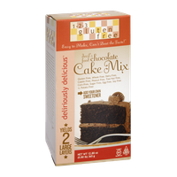 1-2-3 Gluten Free Deliriously Delicious Devil's Food Chocolate Cake Mix