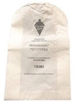 TOUGH GUY 10E085 Filter Bag,2-Ply, PK10