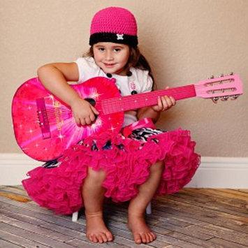 Schoenhut Pink Starburst Acoustic Guitar